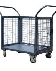 Wózki z siatkowymi burtami